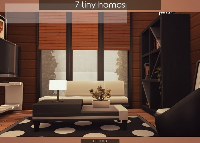 7 Tiny Homes by Praline at Cross Design image 16911 670x479 Sims 4 Updates