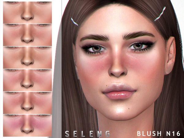 Sims 4 Blush N16 by Seleng at TSR