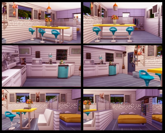 Holiday Trailer NOCC at Lily Sims image 1726 670x541 Sims 4 Updates