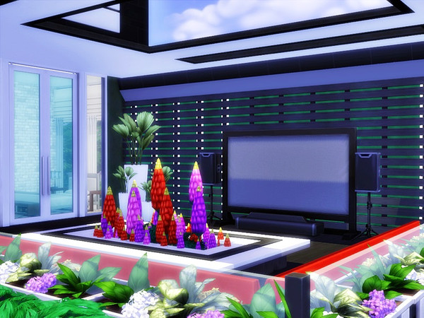 NEDO modern home by marychabb at TSR image 1728 Sims 4 Updates