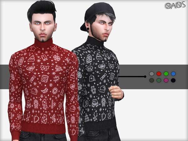 Winter Turtleneck Sweater by OranosTR at TSR image 175 Sims 4 Updates
