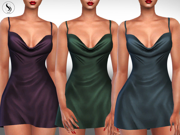 Silk Sleeping Gowns by Saliwa at TSR image 177 Sims 4 Updates