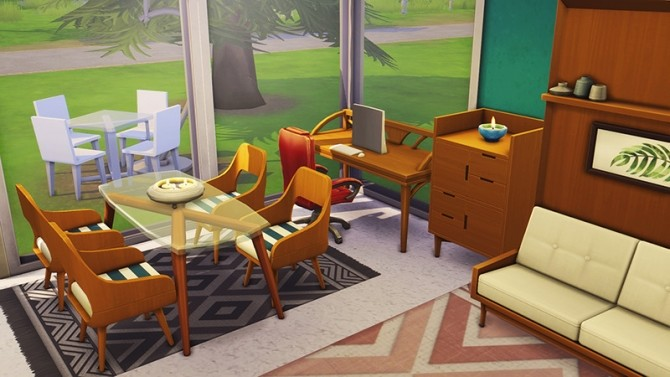 Sims 4 Tiny Living Home for Four at Miss Ruby Bird