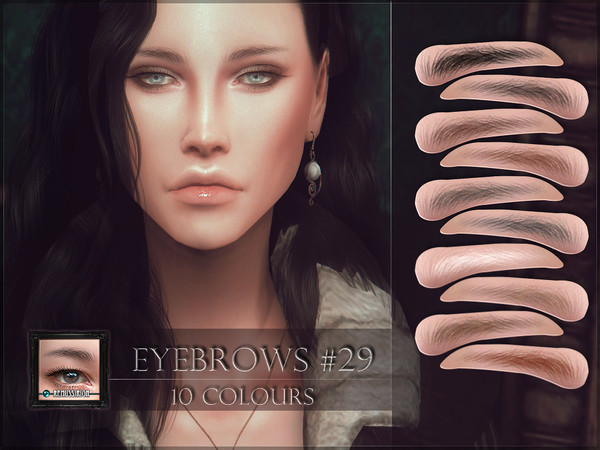 Eyebrows 29 by RemusSirion at TSR image 178 Sims 4 Updates