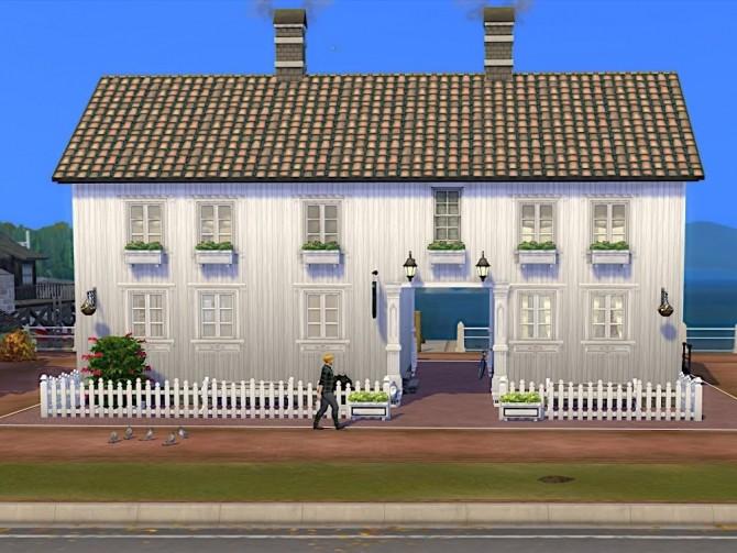 Sims 4 Holmsbu Helsebad No CC bath at KyriaT's Sims 4 World