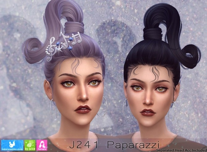 J241 Paparazzi hair (P) at Newsea Sims 4 image 1802 670x491 Sims 4 Updates