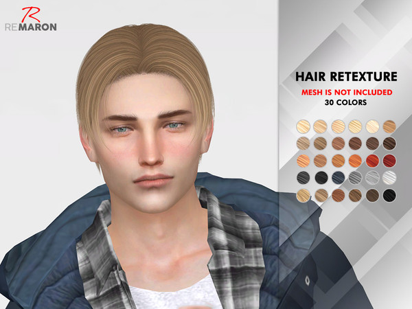 Nick Hair Retexture by remaron at TSR image 1810 Sims 4 Updates