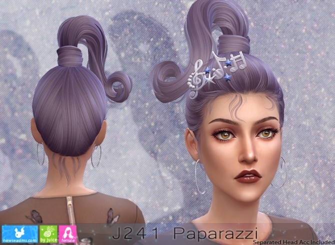 J241 Paparazzi hair (P) at Newsea Sims 4 image 1813 670x491 Sims 4 Updates