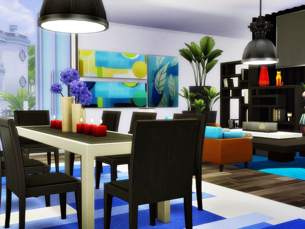 NEDO modern home by marychabb at TSR image 1826 Sims 4 Updates