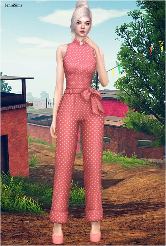 Jumpsuit Detention at Jenni Sims image 1844 670x990 Sims 4 Updates