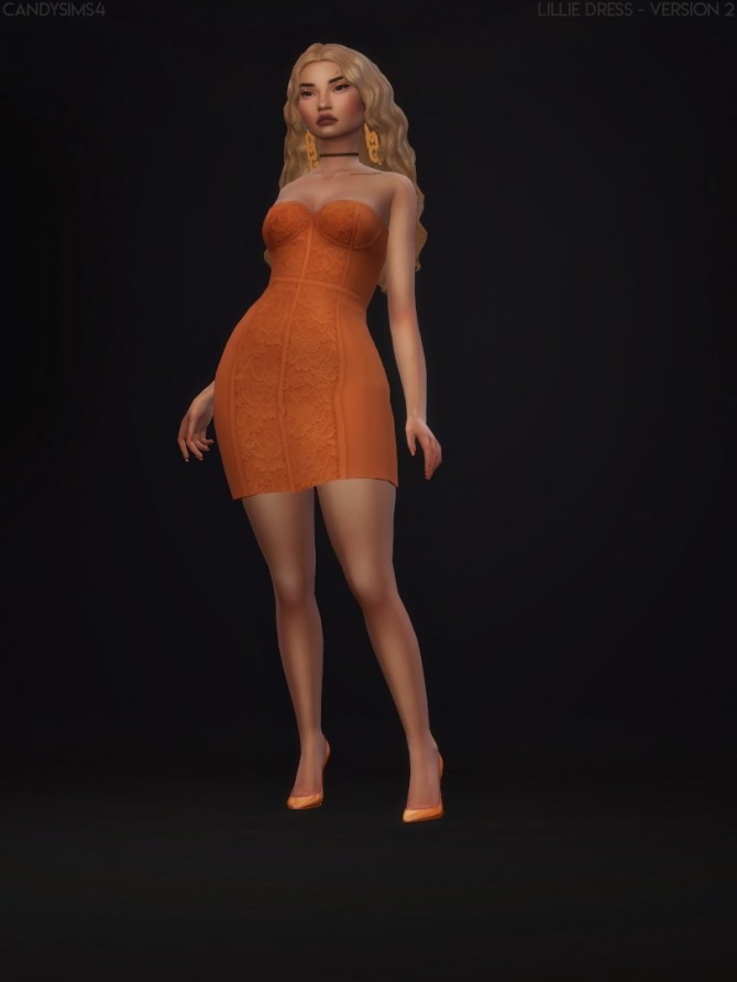 LILLIE DRESS at Candy Sims 4 image 18610 670x893 Sims 4 Updates