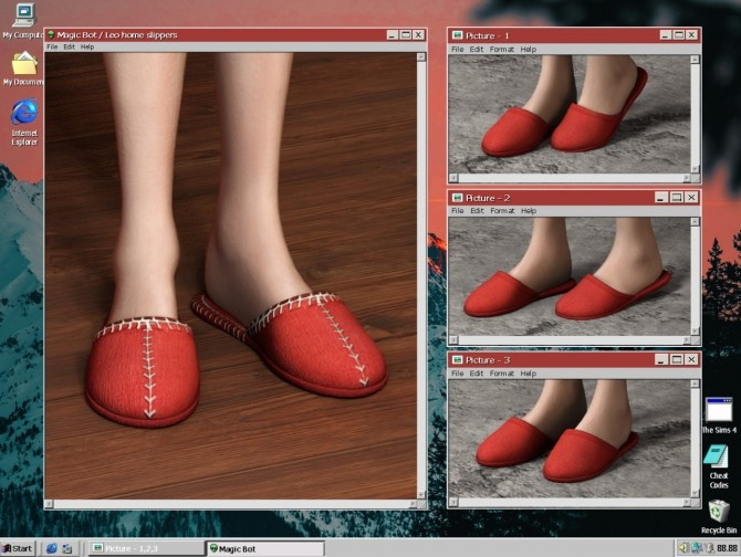 LEO HOME SLIPPERS at Magic bot image 1885 670x504 Sims 4 Updates