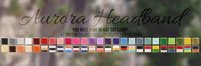 AURORA HAIR + HEADBAND ACC at Candy Sims 4 image 1911 670x223 Sims 4 Updates