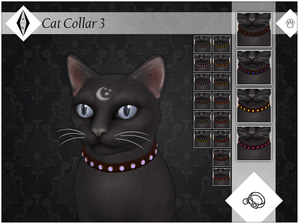 Sims 4 Cat Collar 3 by AleNikSimmer at TSR