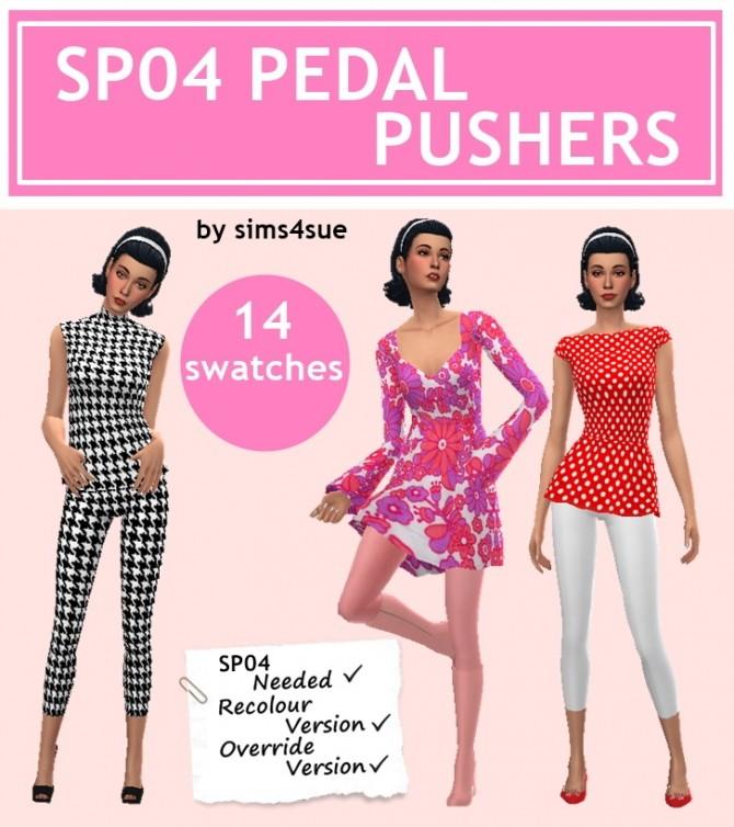 Sims 4 SP04 PEDAL PUSHERS leggings at Sims4Sue