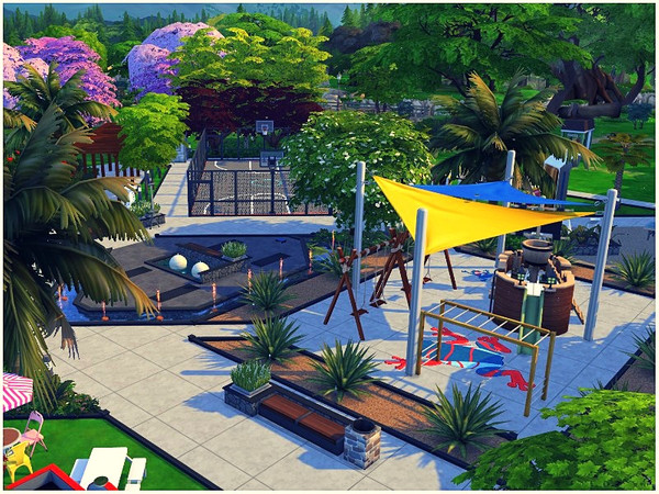 Central Park by lotsbymanal at TSR image 1927 Sims 4 Updates