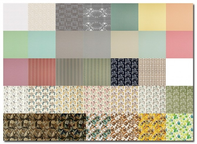 Every Day Living   Curtains & Pillow Recolors by MsTeaQueen at Blooming Rosy image 19311 670x490 Sims 4 Updates