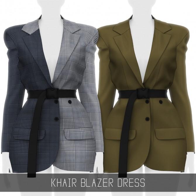 KHAIR BLAZER DRESS at Simpliciaty image 19410 670x670 Sims 4 Updates