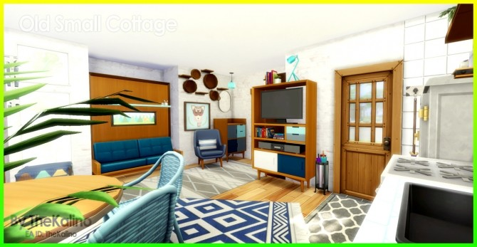 Sims 4 Old Small Cottage at Kalino