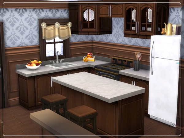 Cozy Winter Cabin by Summerr Plays at TSR image 195 Sims 4 Updates