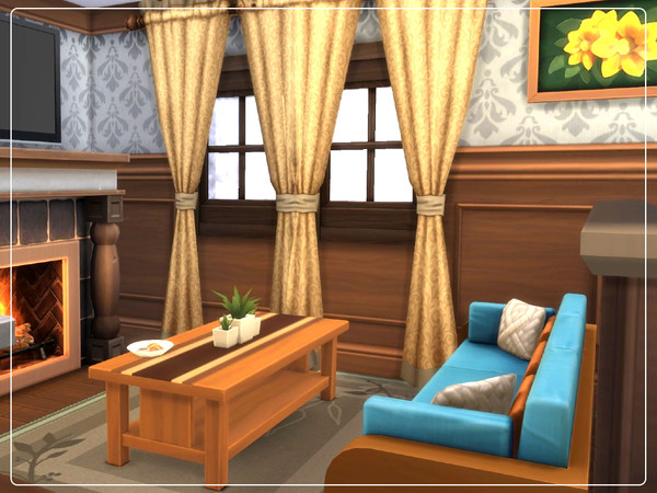 Cozy Winter Cabin by Summerr Plays at TSR image 196 Sims 4 Updates