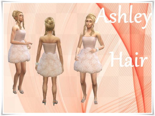 Sims 4 Ashley Hair at Birksches Sims Blog