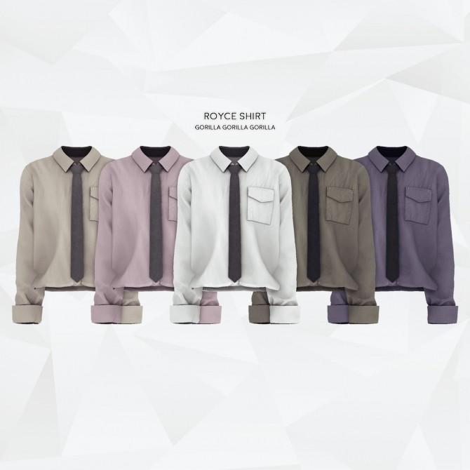Royce shirt at Gorilla image 1984 670x670 Sims 4 Updates