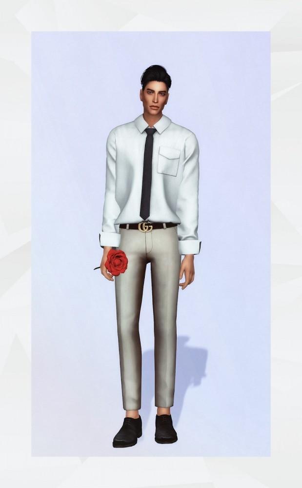 Royce shirt at Gorilla image 1994 619x1000 Sims 4 Updates