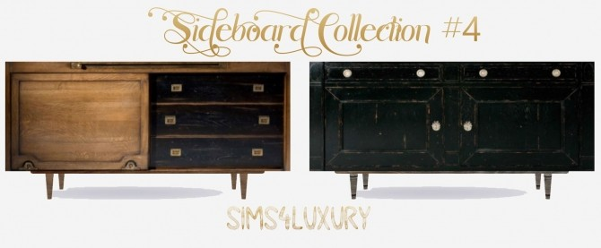 Sims 4 Sideboard Collection #4 at Sims4 Luxury