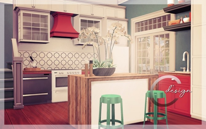 Mary house by Praline at Cross Design image 20010 670x419 Sims 4 Updates