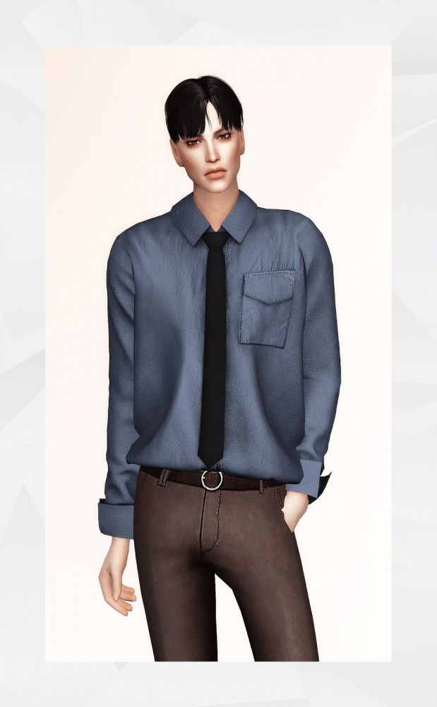 Royce shirt at Gorilla image 2004 619x1000 Sims 4 Updates