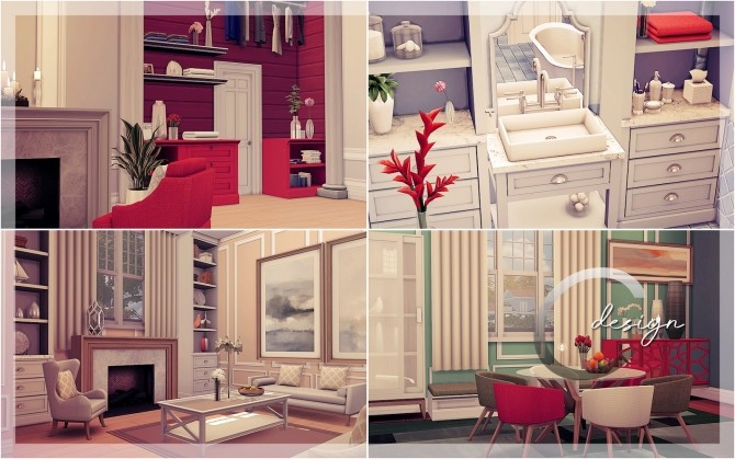 Mary house by Praline at Cross Design image 20212 670x419 Sims 4 Updates