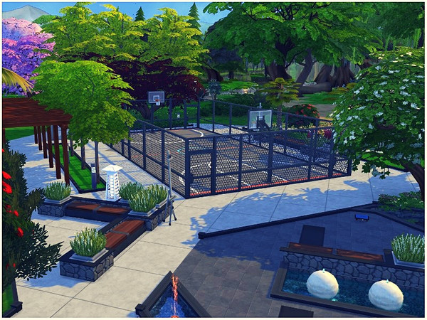 Central Park by lotsbymanal at TSR image 2025 Sims 4 Updates