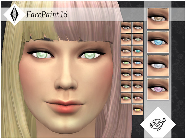FacePaint 16 by AleNikSimmer at TSR image 2027 Sims 4 Updates