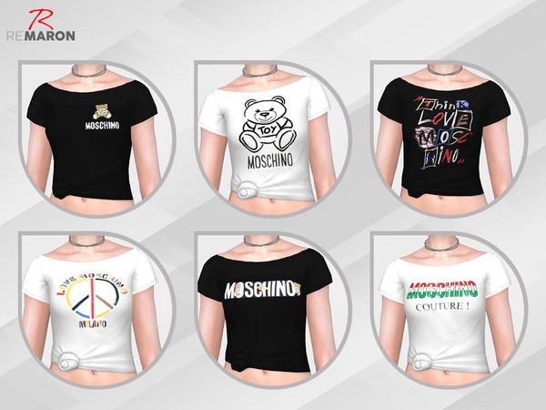 Sims 4 T shirt by remaron at TSR