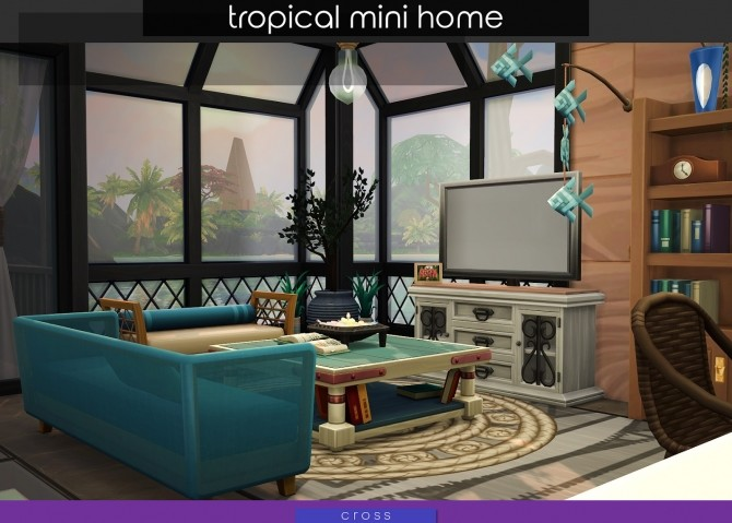 Tropical Mini Home by Praline at Cross Design image 2053 670x479 Sims 4 Updates