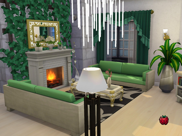 Sims 4 Julia traditional house by melapples at TSR