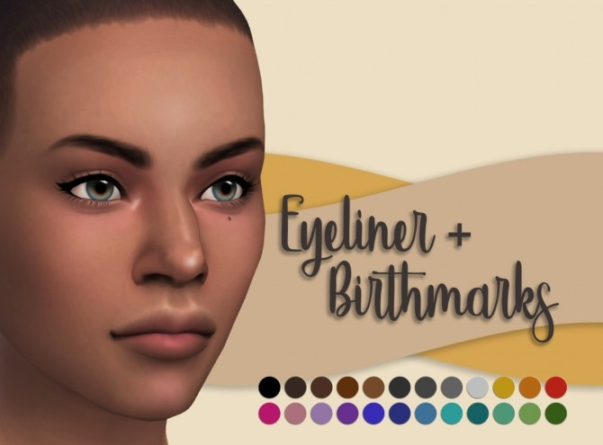 Eyeliner and Birthmarks at Miss Ruby Bird image 2112 670x495 Sims 4 Updates
