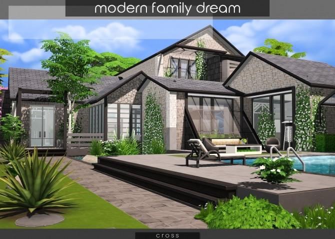 Modern Family Dream at Cross Design image 2117 670x479 Sims 4 Updates