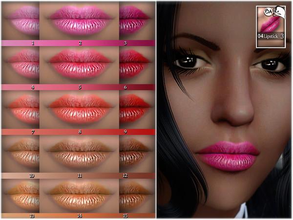 Lipstick N04 by BAkalia at TSR image 2119 Sims 4 Updates
