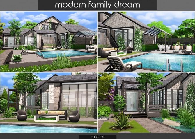 Modern Family Dream at Cross Design image 2123 670x479 Sims 4 Updates