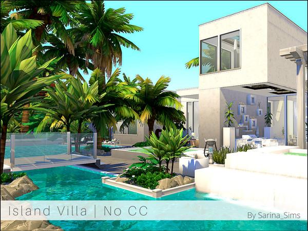Island Villa by Sarina Sims at TSR image 2125 Sims 4 Updates