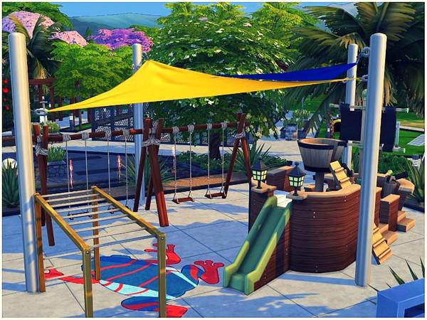 Sims 4 Central Park by lotsbymanal at TSR