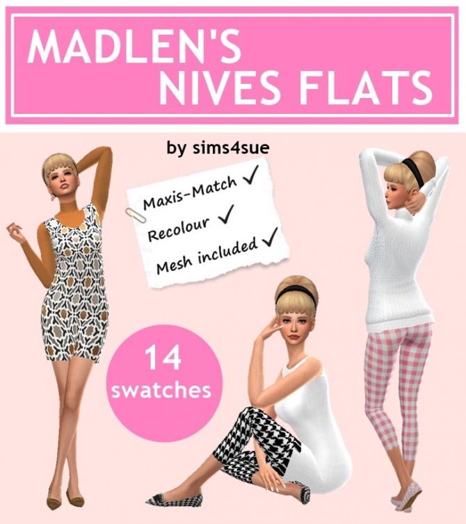 Sims 4 MADLEN'S NIVES FLATS at Sims4Sue