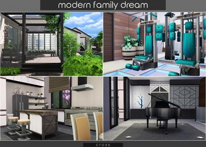 Modern Family Dream at Cross Design image 2132 670x479 Sims 4 Updates