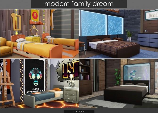 Modern Family Dream at Cross Design image 2143 670x479 Sims 4 Updates