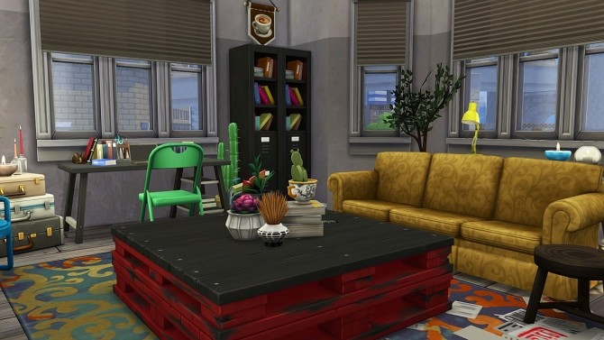 RUNAWAY TEENS APARTMENT at Aveline Sims image 2144 670x377 Sims 4 Updates