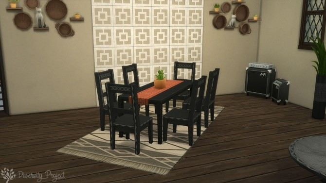 African Living Room at Sims 4 Diversity Project image 2175 670x377 Sims 4 Updates