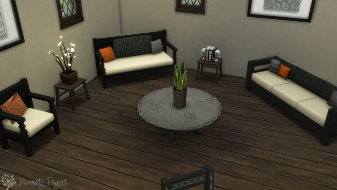African Living Room at Sims 4 Diversity Project image 2184 670x377 Sims 4 Updates