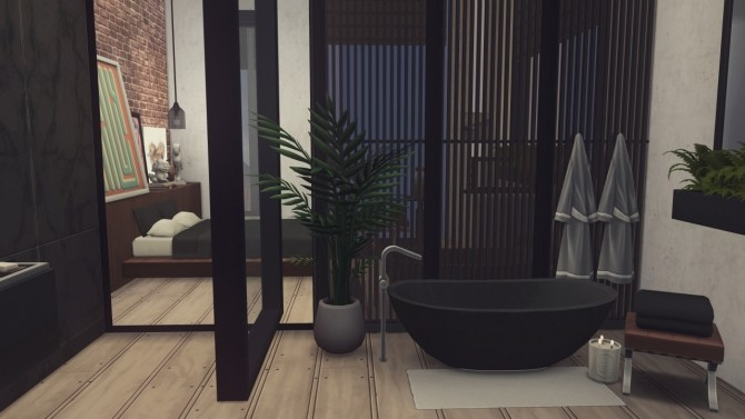 Sims 4 888 Spire Apartments at Harrie